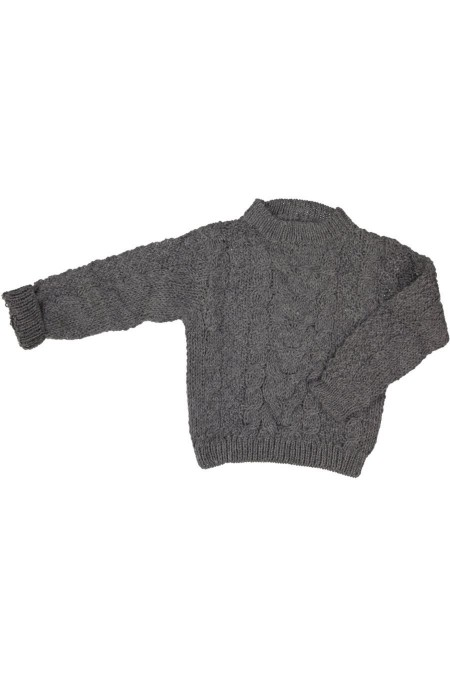 Pull en laine tricoté main Serendipity Organics