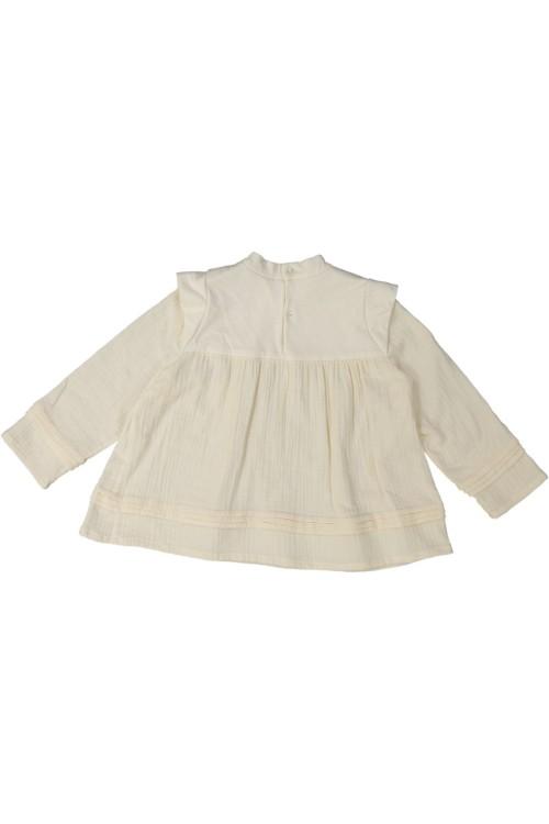 blouse fille risu risu coton non teint patience