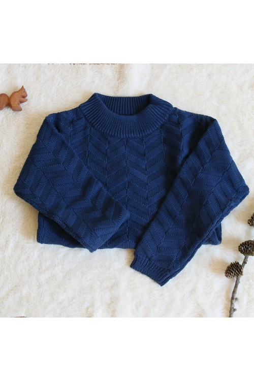 Girl jumper in 100% biological cotton