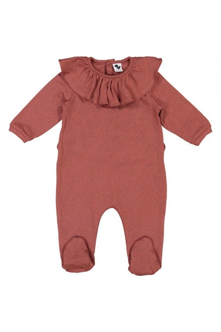 pyjama bébé bio ballerine rouge