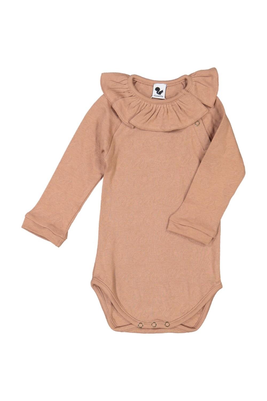 organic cotton pink baby body poupee