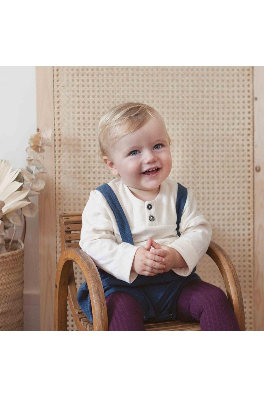 chemise bébé peintre coton bio peintre blanc