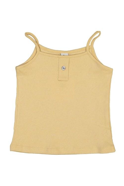 chemisette fille coton bio pollen gots