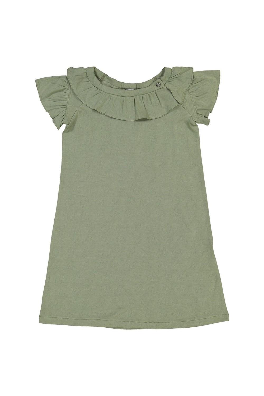 chemise de nuit fille en coton bio gioia lichen