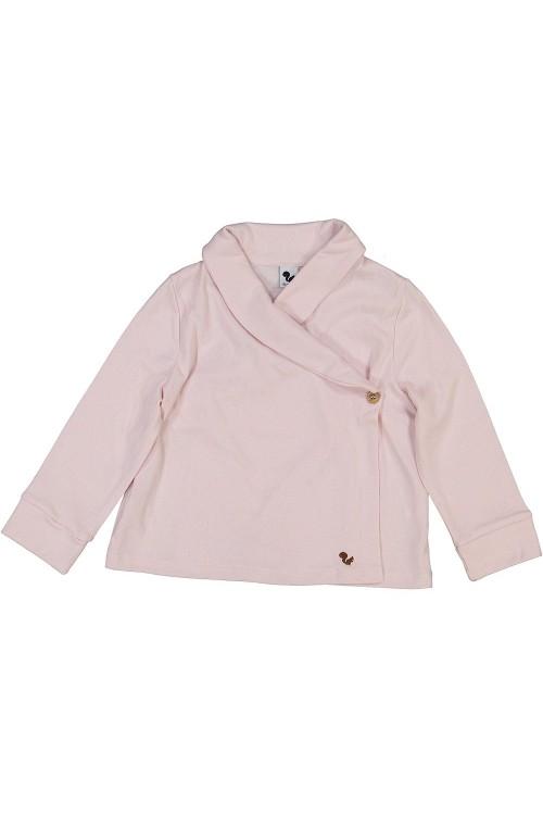 veste de chambre rose tendre cocoon bio