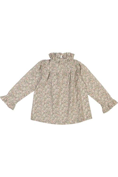 blouse sonate fleurs coton bio