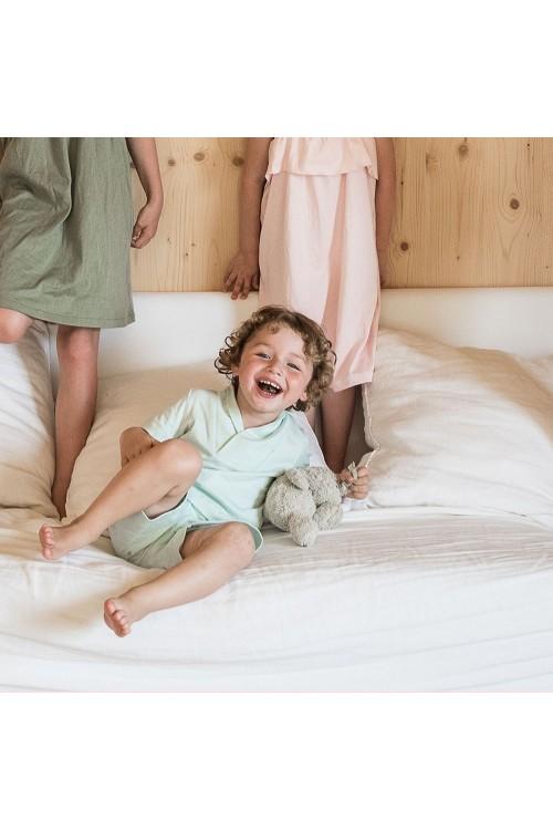 pyjama garçon été aqua coton bio