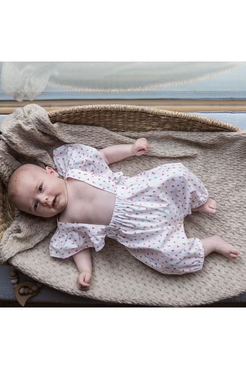 Combinaison bébé Cyclamen