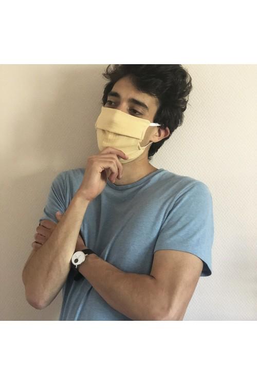 masque anti covid réversible et lavable