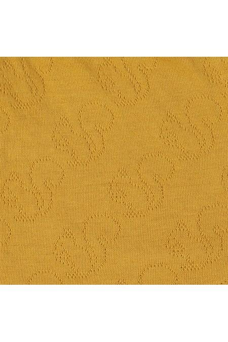 Zoom Robe bi-matière en jersey piqué et mousseline de coton bio