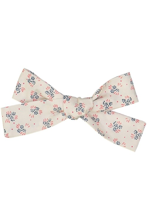 organic cotton girl's hair bow