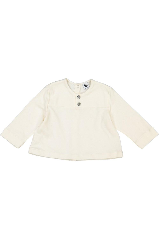 chemise bebe coton bio peintre écru