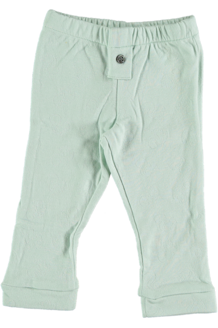 leggings bébé coton bio bleu pistil