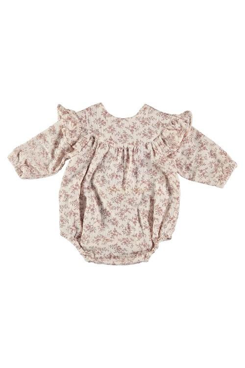 organic cotton baby camélia overalls risu risu