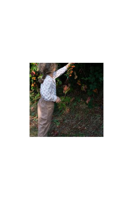 pantalon coton bio risu risu planteur mixte