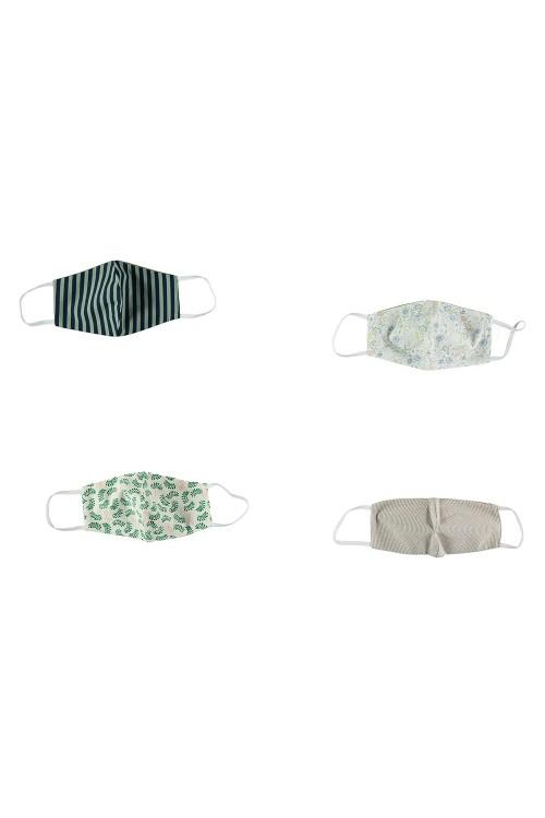 masques eco-responsables 100% coton bio par Risu Risu