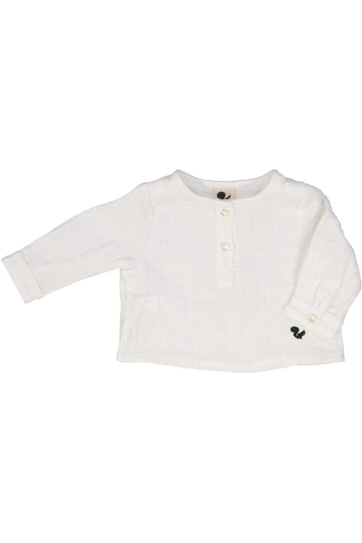 chemise bébé capitaine risu risu