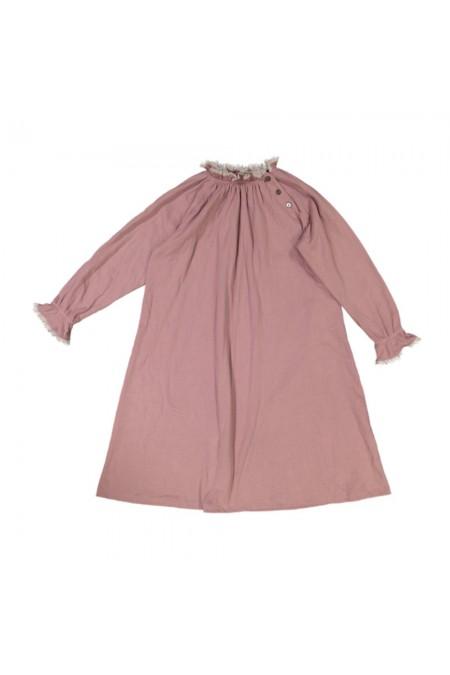 chemise de nuit enfant coton bio rose harmonie