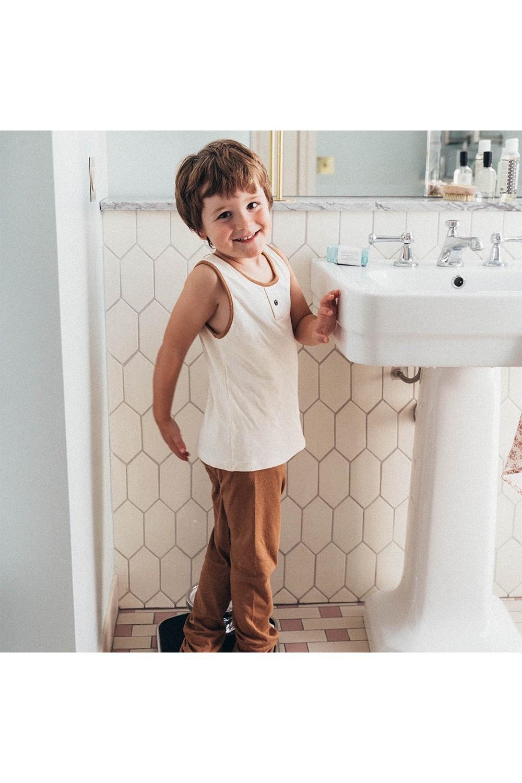 sous vêtement coton bio garçon chemise