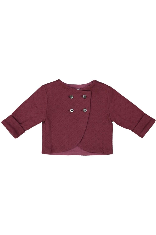 diplomate baby jacket anemone organic cotton