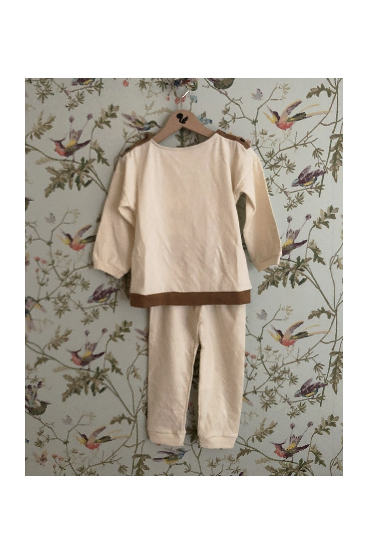 pyjama garçon coton bio écru dandy non teint
