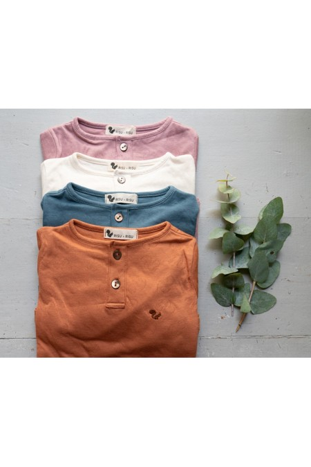 gamme de t shirts enfant en coton bio risu risu