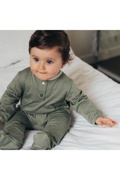 pyjama bébé domino coton bio risu risu