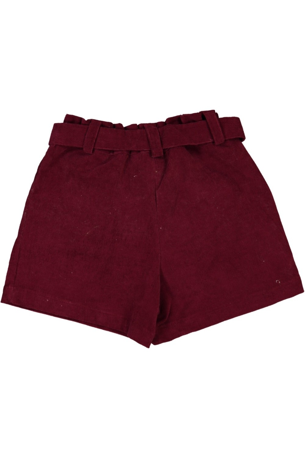 short fille velours marron aster risu risu