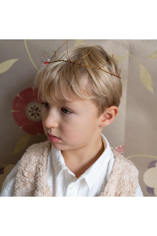 children's king handmade crown