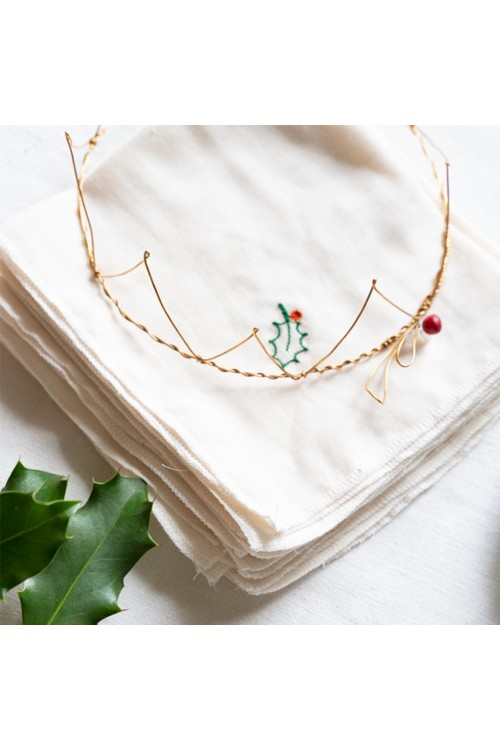 Handmade little king crown
