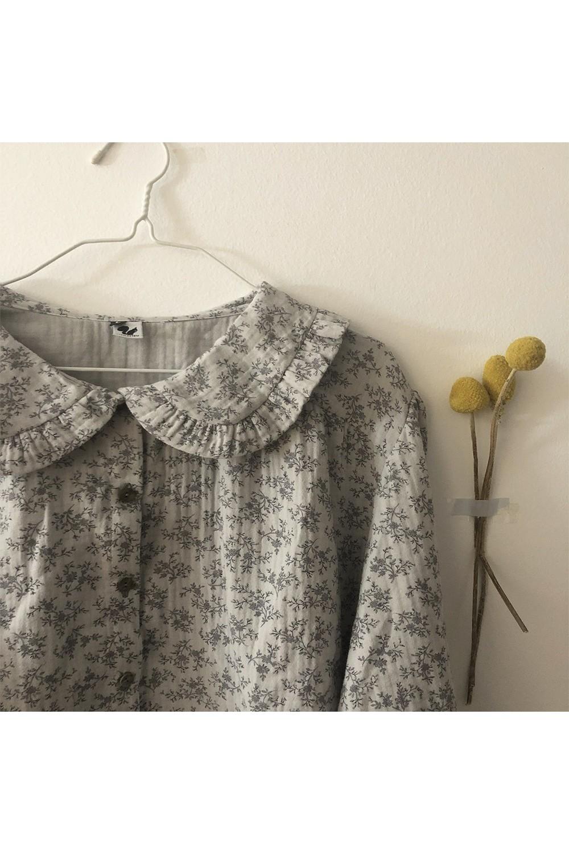 blouse femme coton bio ibiscus gris