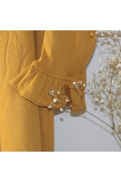Chemise de nuit jersey de coton 100% bio  gold