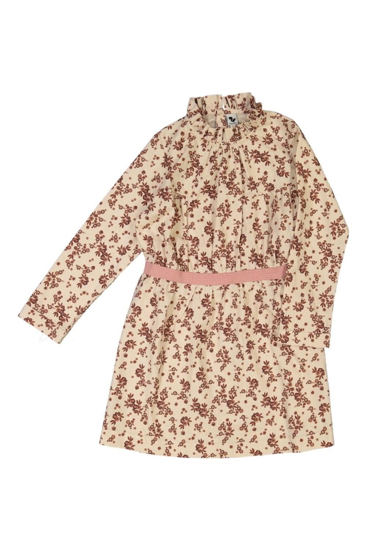 robe fille hiver serpentine amalia coton bio