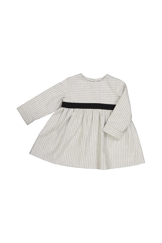 robe bébé hiver ribambelle coton bio gris