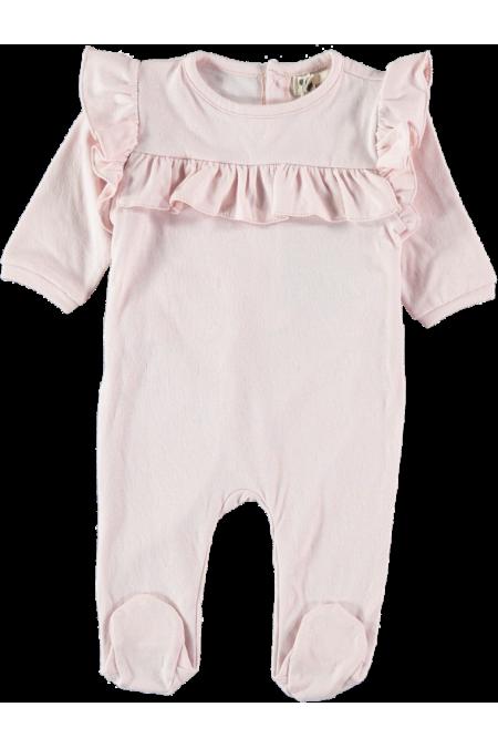 pyjama bébé rose coton bio etamine risu risu