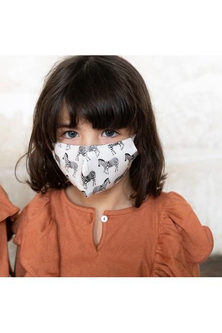 masque tissu lavable coton bio enfant catégorie 1