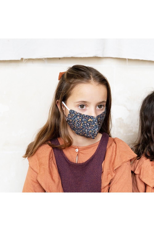 masque tissu lavable coton bio catégorie 1
