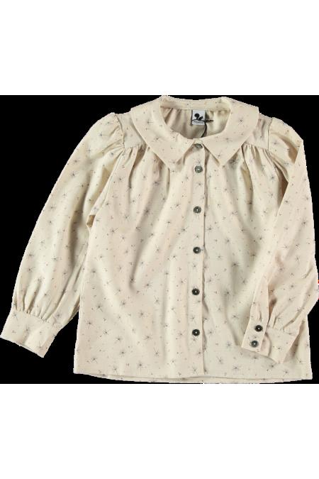 blouse fille coton bio ibiscus étamine