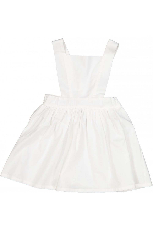 robe fille calella coton bio blanche
