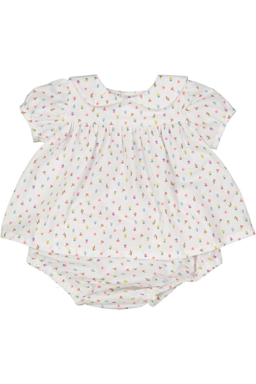 robe bébé coton bio fleur