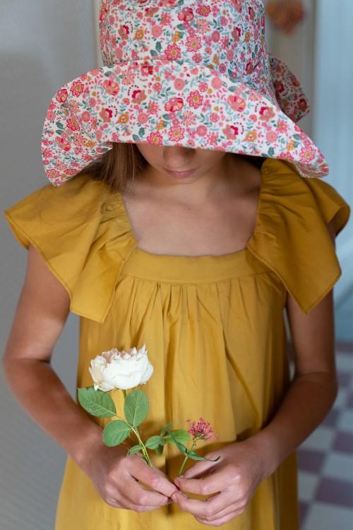 robe été jaune bohémienne risu risu