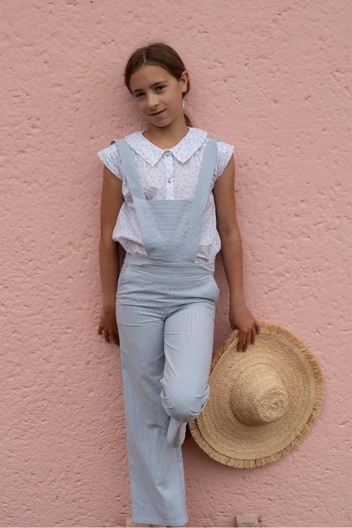 Retro girl's blouse