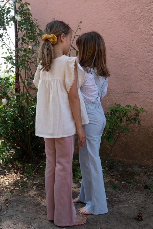 ensembles filles risu risu pour l'été chic en coton bio