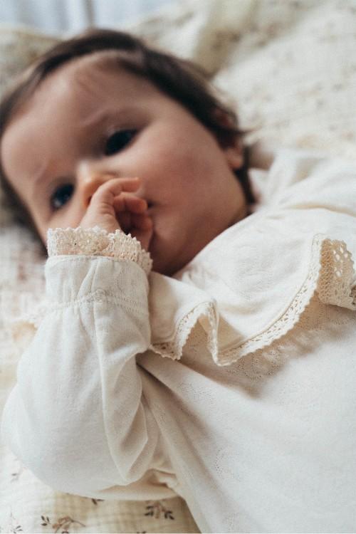Pyjama bébé Ballerine avec dentelle