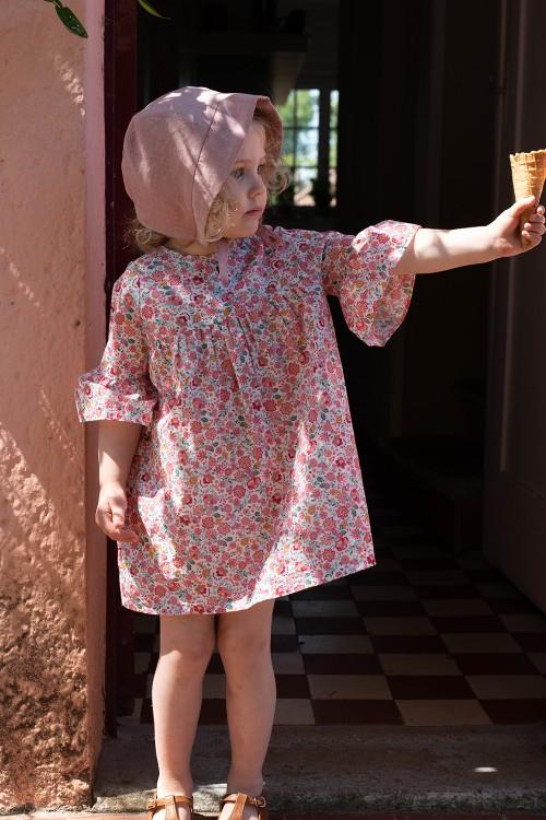 robe cérémonie bébé fille coton bio risu risu