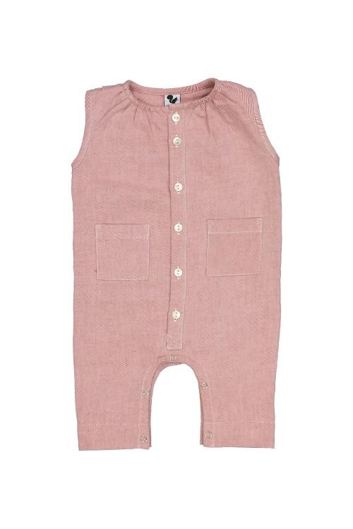 organic cotton baby bambou jumpsuit