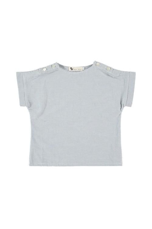 chemise bébé corsaire azur corsaire coton bio