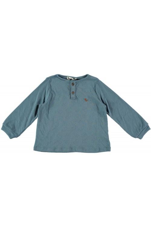 t shirt gino bleu coton bio