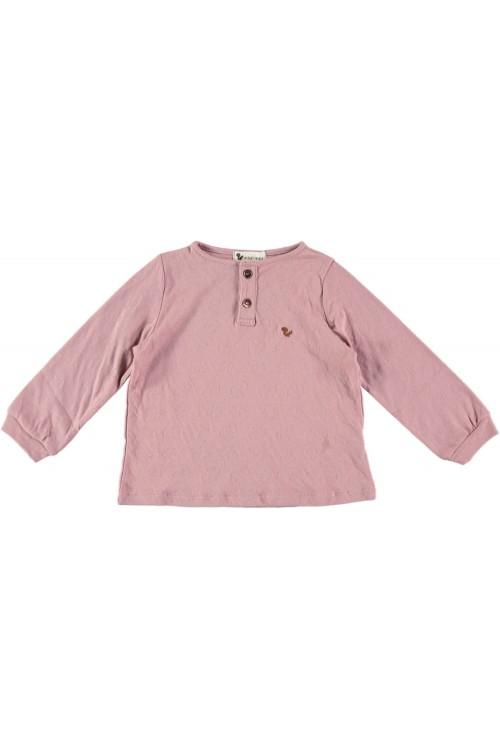 t shirt gino rose colchique coton bio
