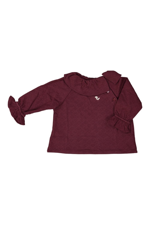 blouse quatuor anémone risu risu coton bio